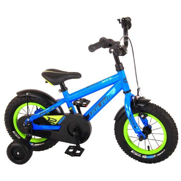Billede af Børnecykel Rocky blå 12 tommer