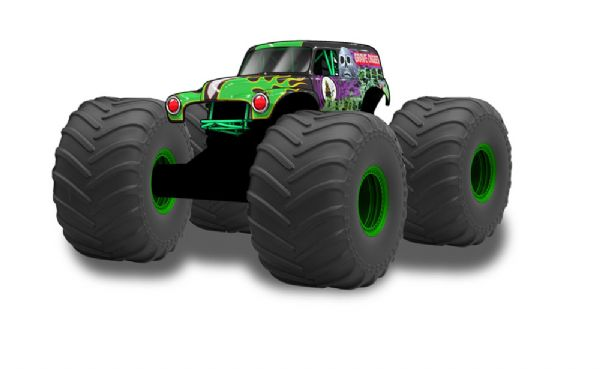 Image of Monster Jam RC Mega Grave Digger (473-046198)