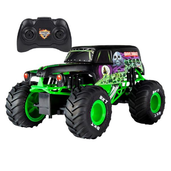 Image of Monster Jam Gravedigger RC 1:15 2,4 GHz (473-130193)