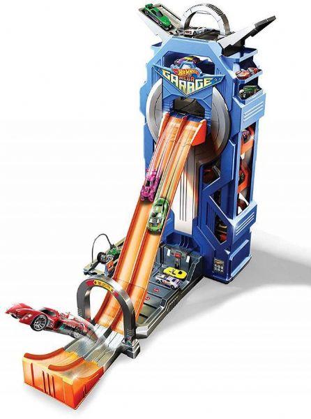 Image of Hot Wheels City Power Garage (54-0FTB68)