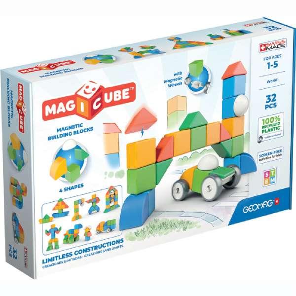 Image of Geomag Magicube 4 Verden 32 dele (71-000203)