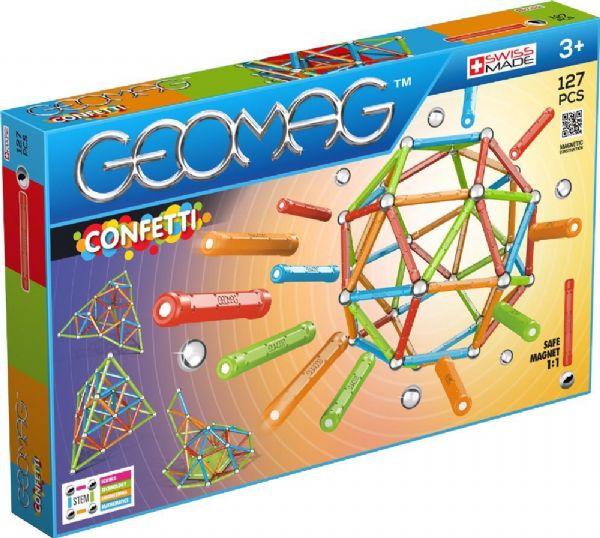 Image of Geomag Confetti 127 dele (71-003540)