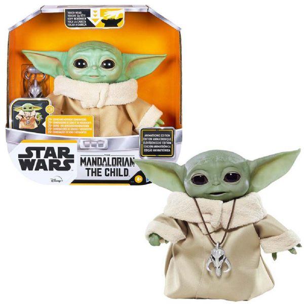 Image of Mandalorian Baby Yoda Animatronic Figur (92-0F1119)