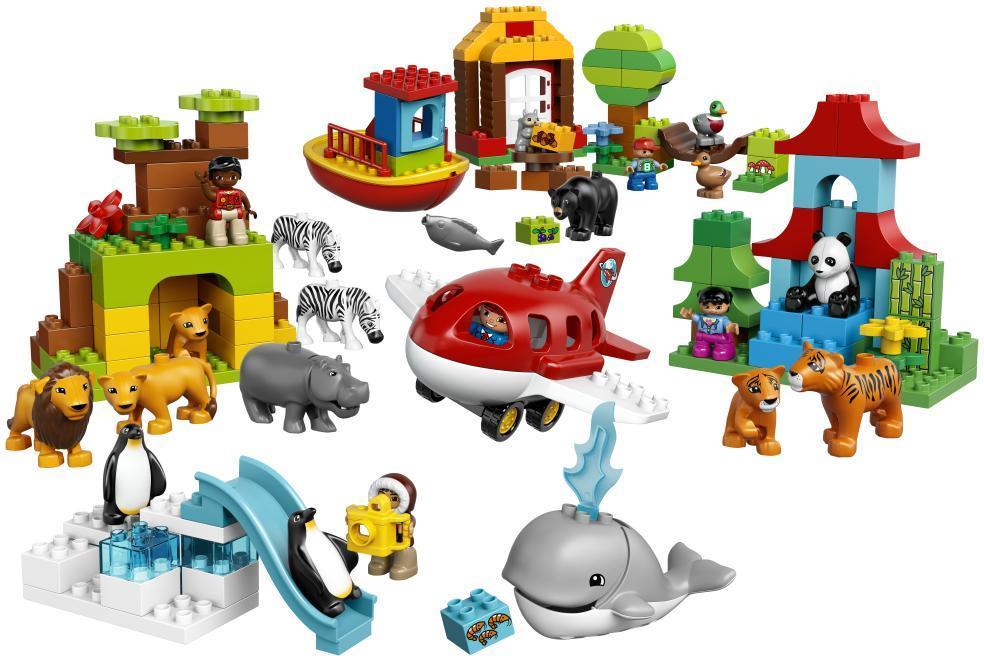 lego duplo – Verden rundt - lego 10805 town på eurotoys