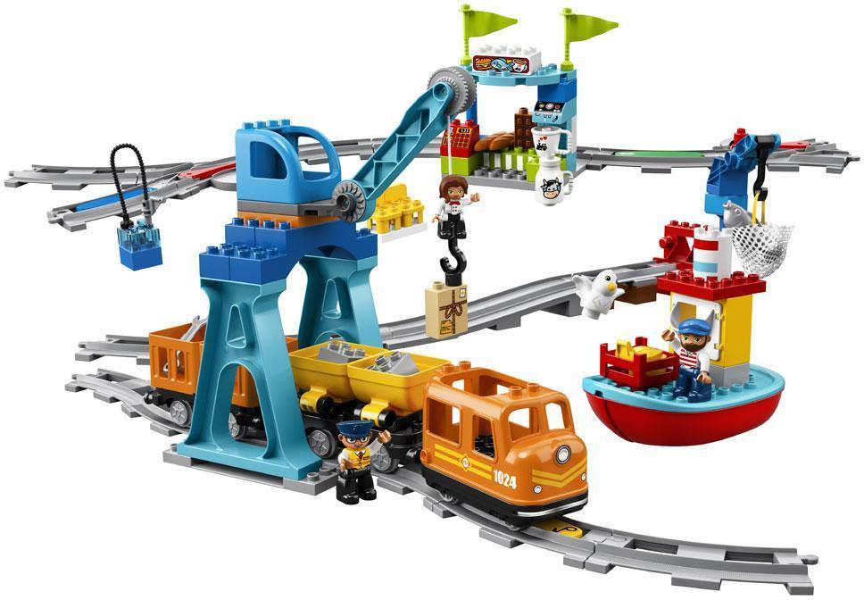Image of Godstog - LEGO Town 10875 (02-010875)