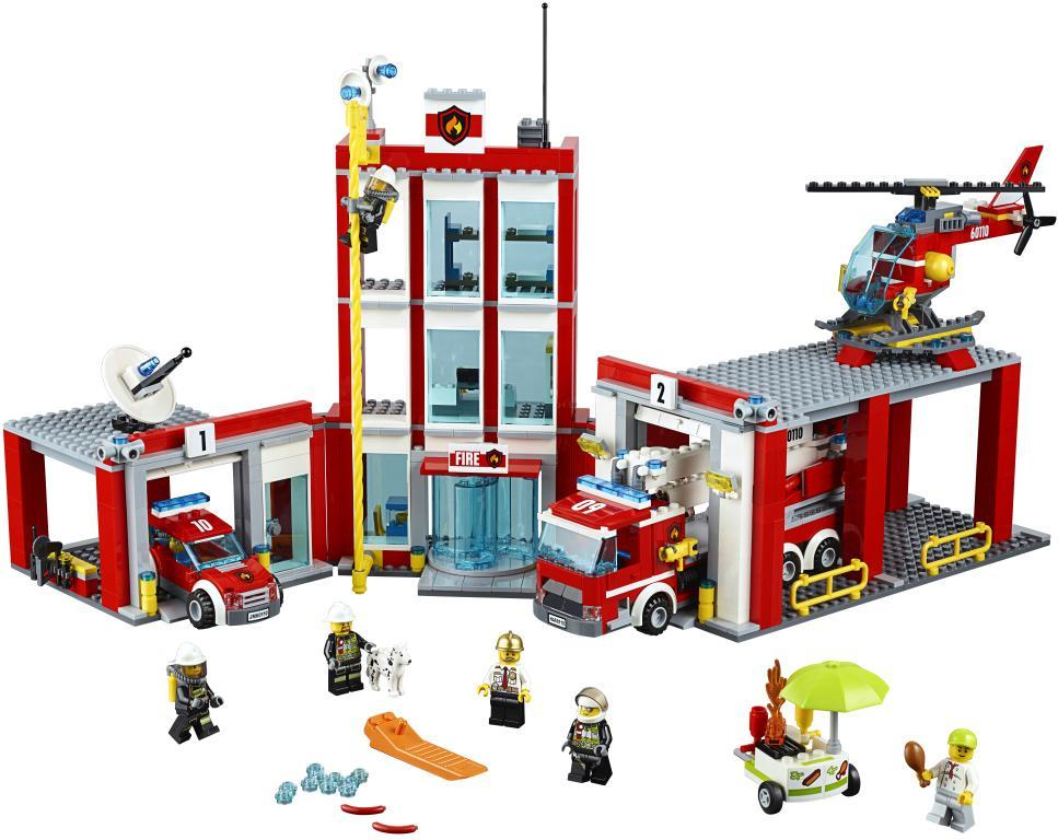 Image of Brandstation - Lego 60110 City (02-060110)