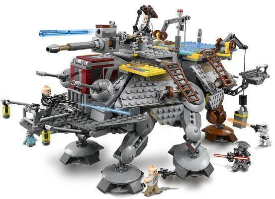 Image of Kaptajn Rexs AT-TE - Lego 75157 Star Wars (02-075157)