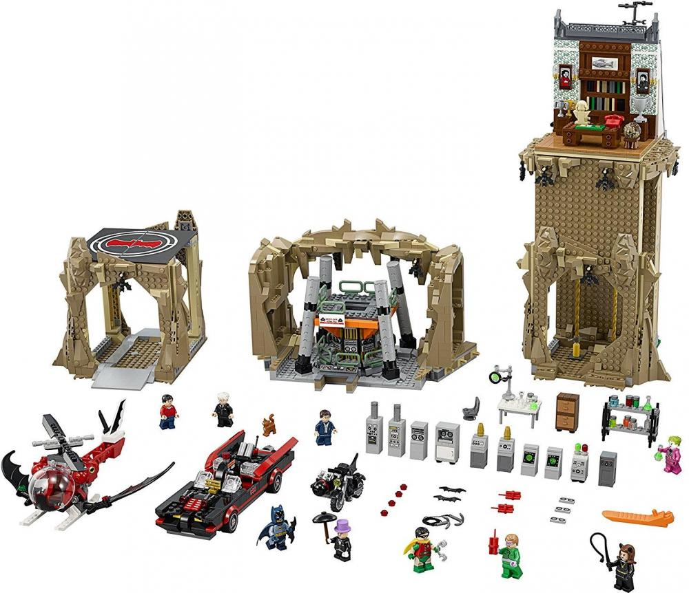 Image of Batman Den Klassiske Bathule - LEGO Batman Classic Batcave 76052 (02-076052)