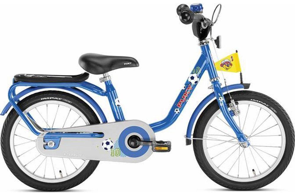 Image of Børnecykel blå 16 tommer - Puky børnecykel z6 4219 (04-004219)