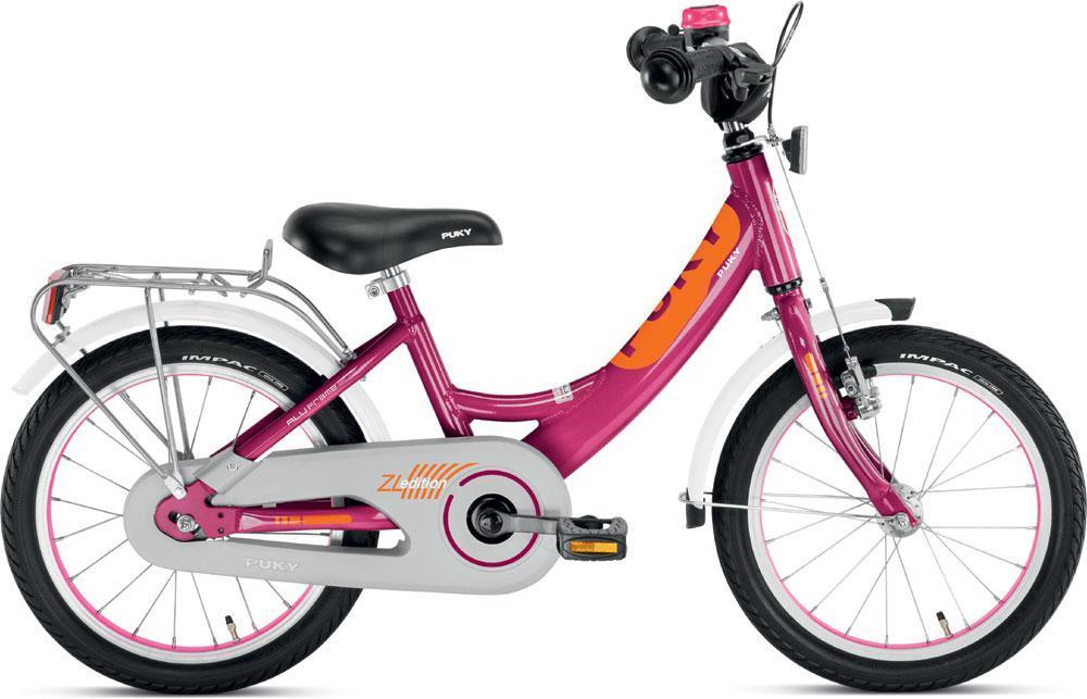 Image of Børnecykel lilla 16 tommer - Puky cykel zl 16-1 alu 4226 (04-004226)