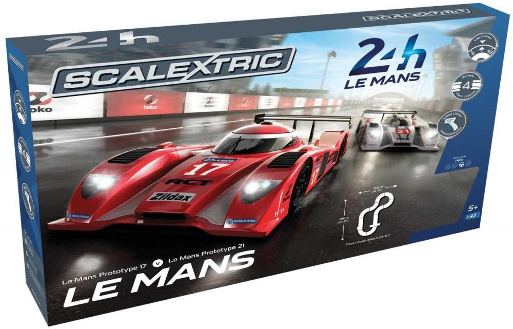 Image of Le Mans Prototypes Sports Cars - Scalextric Racerbane C1368 (07-0C1368)