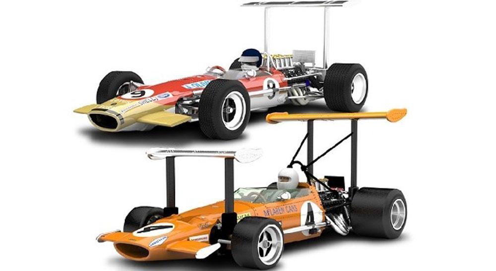 Image of GP Legends - McLaren M7 vs Team Lotus Ty - Scalextric C3544A (07-0C3544A)