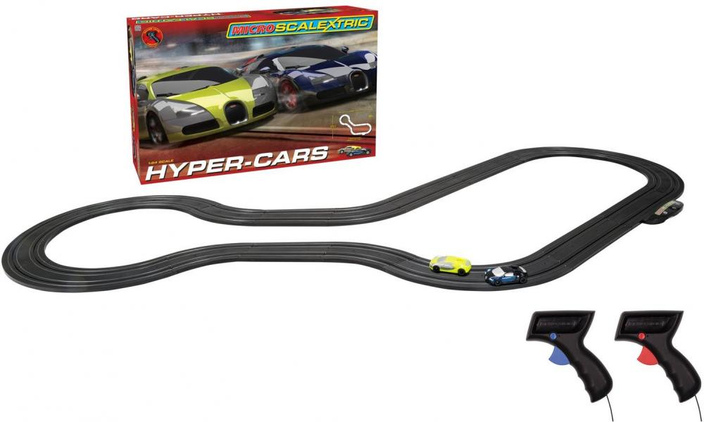 Micro Scalextric Hyper Cars - Micro Scalextric Hyper Cars