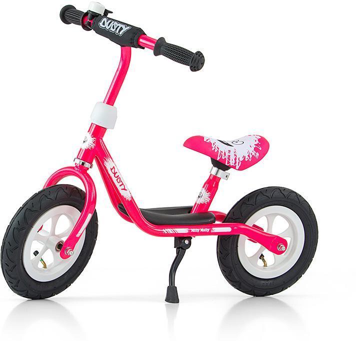 Image of Dusty Pink Løbecykel 10 tommer - Dusty Balancecykel 123265 (09-123265)