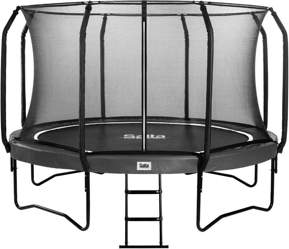 Salta trampolin First Class Ø427 cm, sor - Salta trampolin First Class Ø427 cm, sor