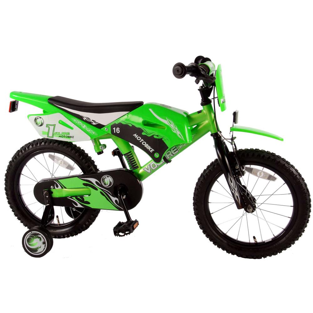 Image of Børnecykel Motorbike 16 tommer - Børnecykel 616075 (09-616075)