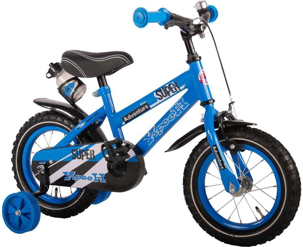 Børnecykel Super Blue 12 tommer - Børnecykel Super Blue 12 tommer