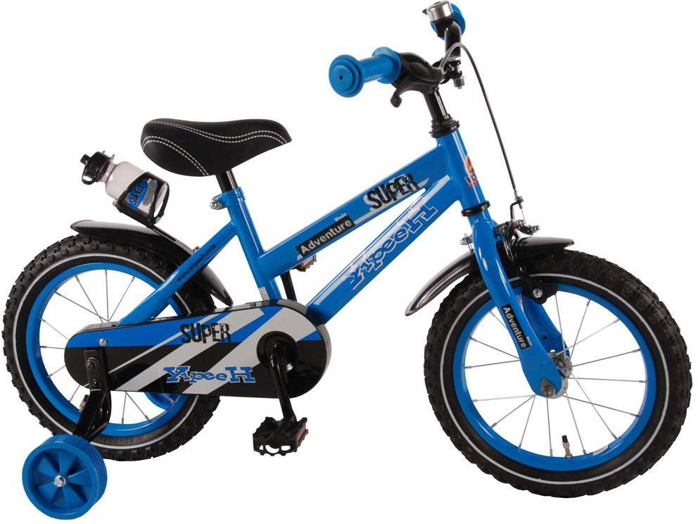 Image of Børnecykel Super Blue 14 tommer - Børnecykel 714320 (09-714320)