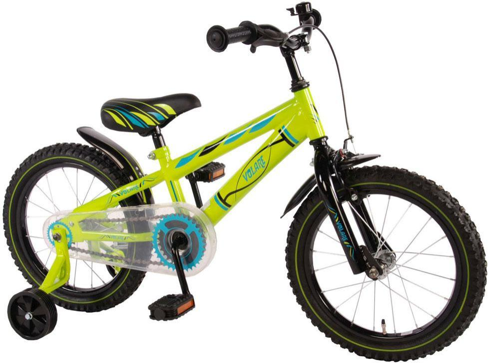 Image of   B%C3%B8rnecykel%20Electric%20Green%2016%20tommer - B%C3%B8rnecykel%20Electric%20Green%2016%20tommer