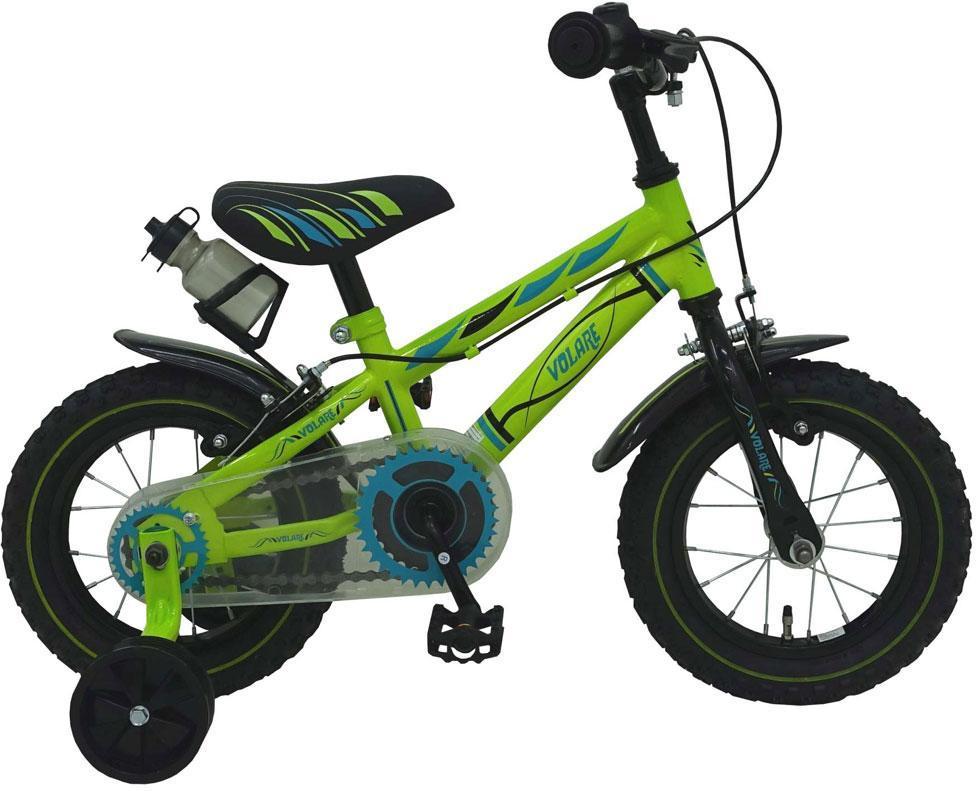 Børnecykel Electric Green 12 tommer - Børnecykel Electric Green 12 tommer