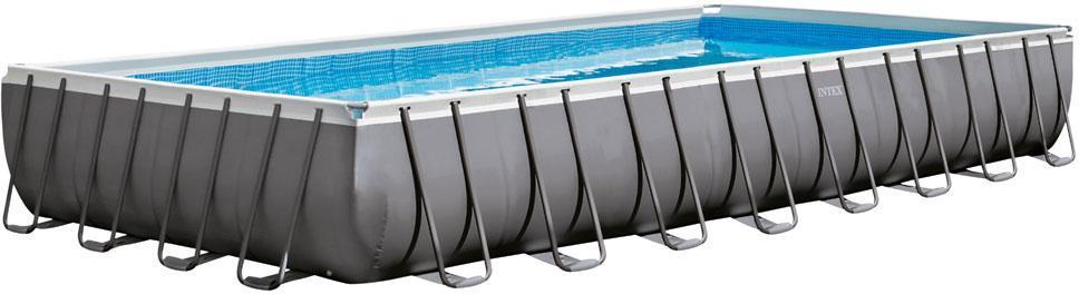 Pool Ultra Frame firkantet 54.368L - Pool Ultra Frame firkantet 54.368L