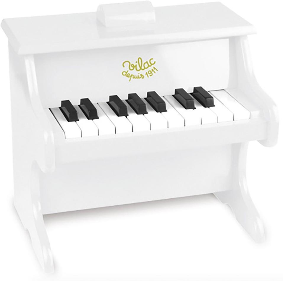 Image of Vilac Klaver Hvid - Piano 50832 (128-050832)
