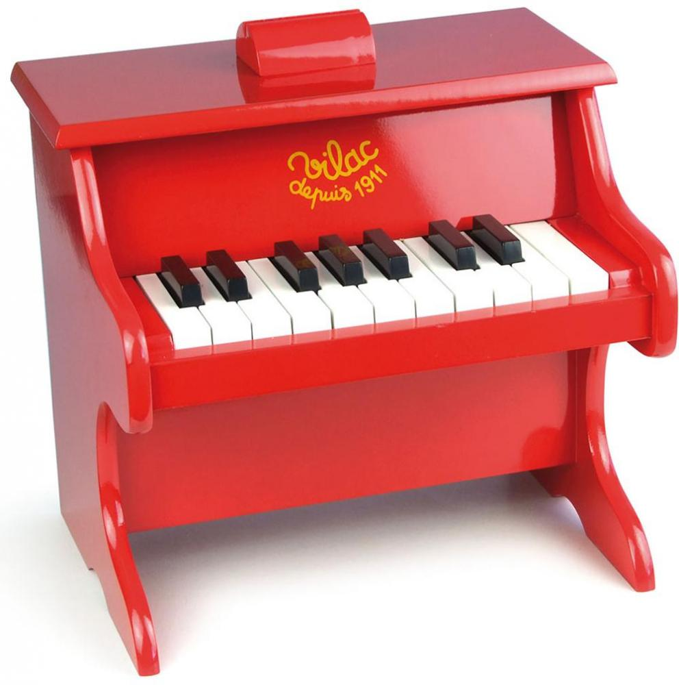Image of Rødt Klaver/piano - Vilac Piano 083173 (128-083173)