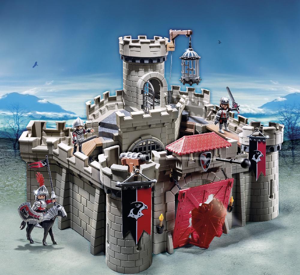Image of Høgeriddernes borg - Playmobil Knights 6001 (13-006001)