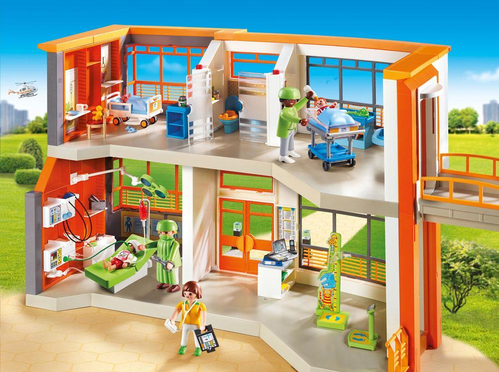 Image of Børnehospitalet - Playmobil 6657 City Life (13-006657)