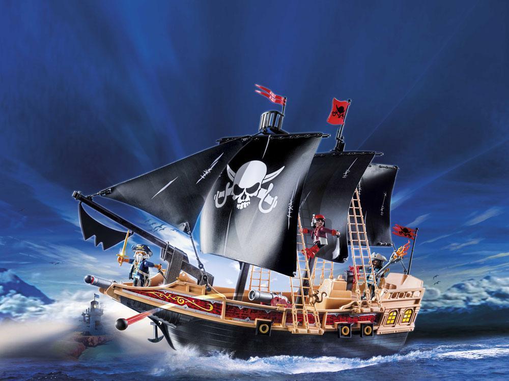 Image of Piratskib - Playmobil pirater 6678 (13-006678)
