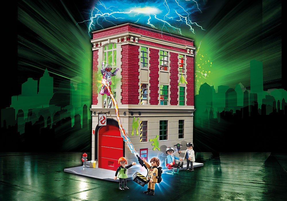 Image of Ghostbusters Brandstation - Playmobil Ghostbusters 9219 (13-009219)