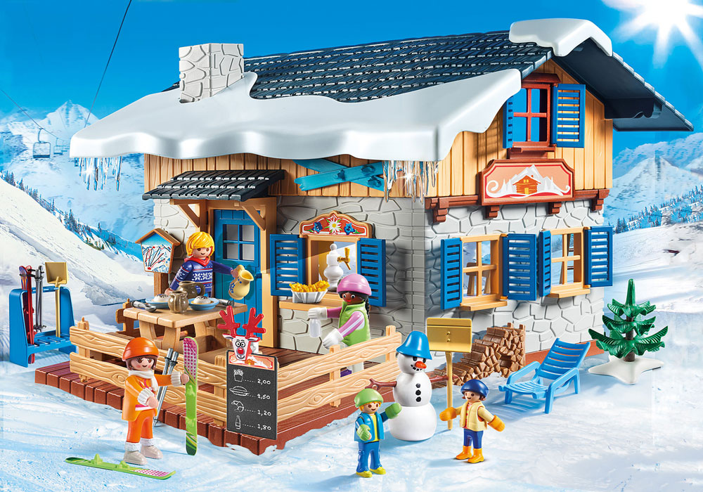 Image of Skihytte - Playmobil Family Fun 9280 (13-009280)