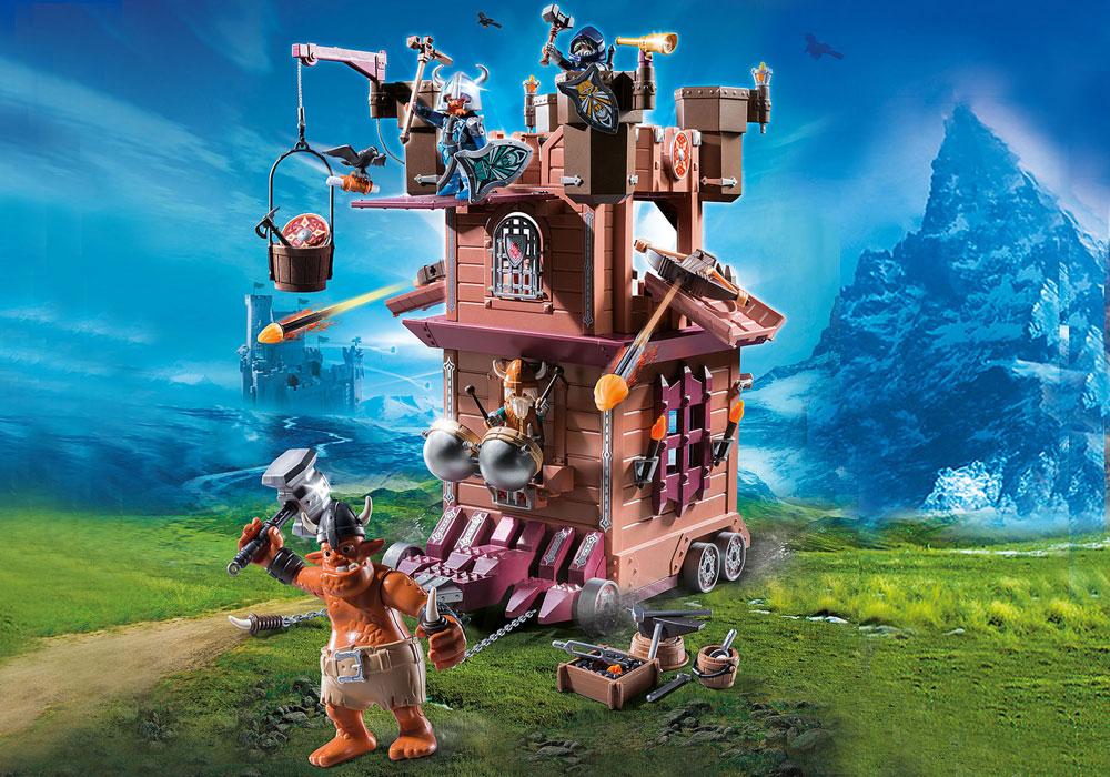 Image of Dværgenes mobile fort - Playmobil Knights 9340 (13-009340)