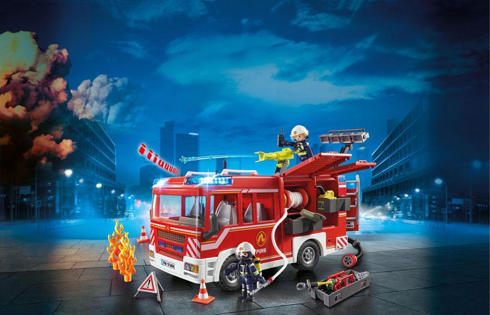 Image of Udrykningsvogn - Playmobil City Action 9464 (13-009464)