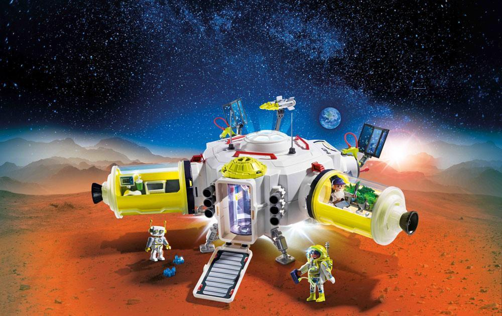 Image of Mars Station - Playmobil Space 9487 (13-009487)