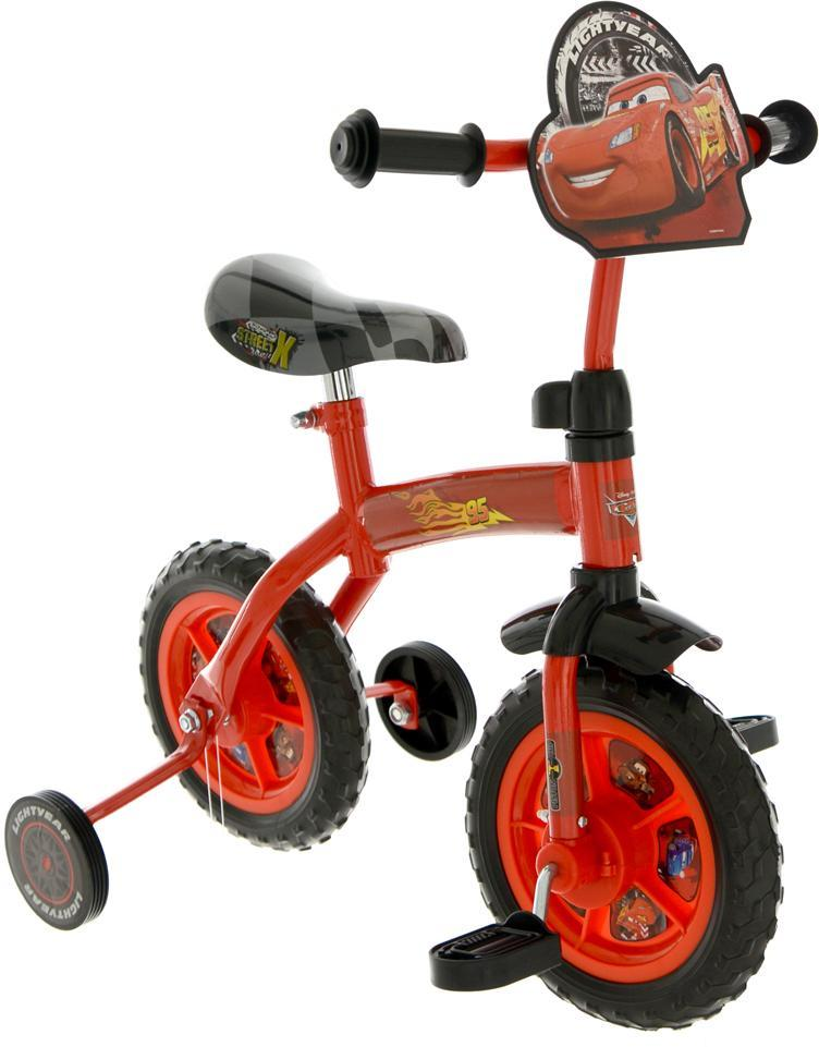 Lynet mcqueen min første cykel - disney cars børnecykel 14045 fra cars på eurotoys