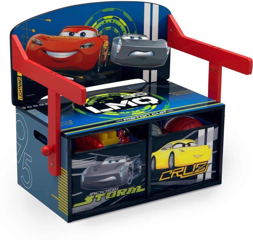 Image of Disney Cars bænk og bord - Lynet McQueen børnemøbler 72117 (140-072117)
