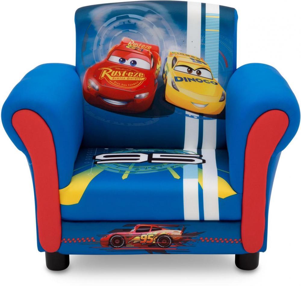 Disney cars lænestol - lynet mcqueen børnemøbler 73015 fra cars på eurotoys