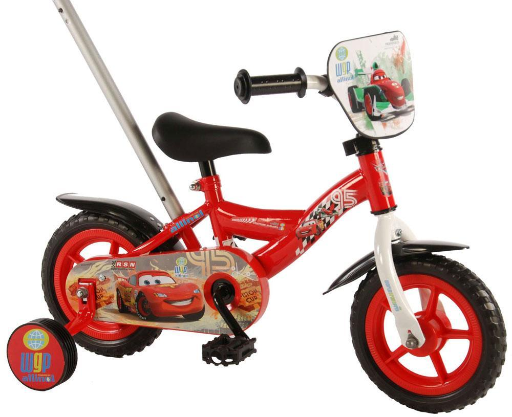 cars – Cars børnecykel 10 tommer - disney cars børnecykel 310058 fra eurotoys