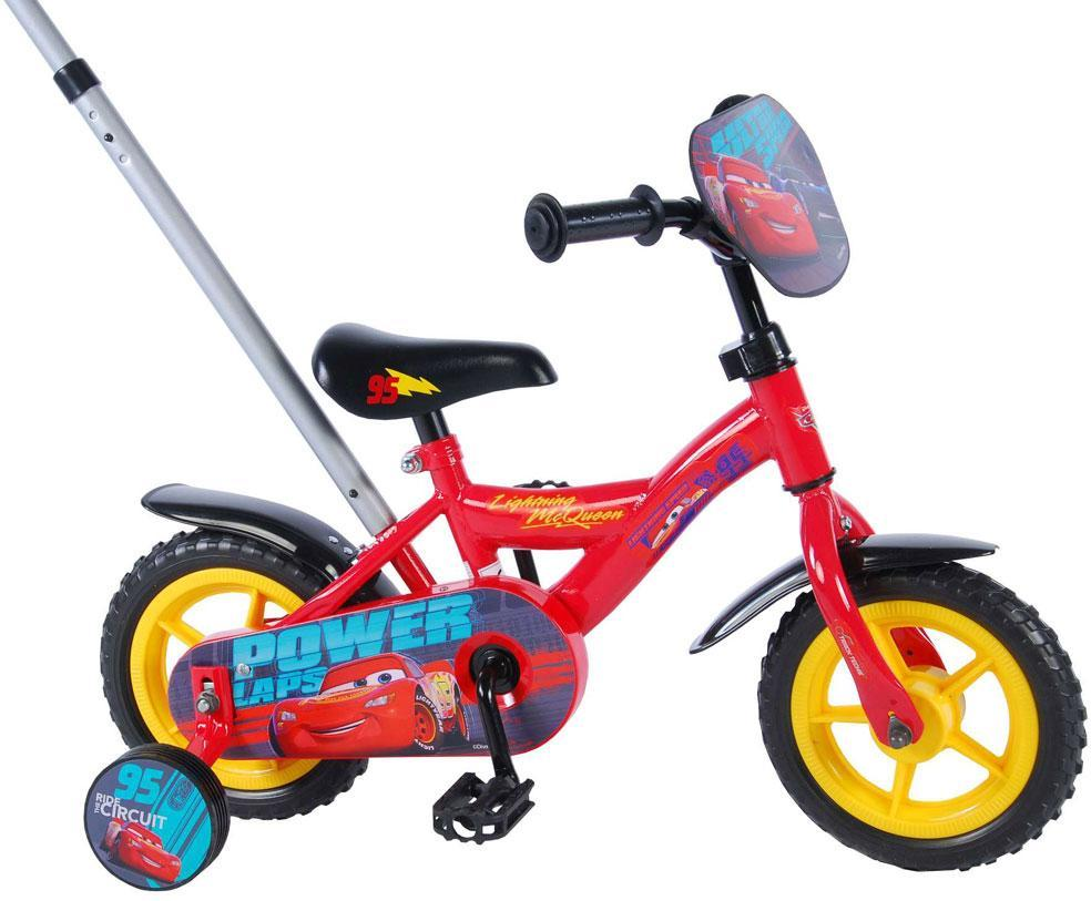 cars – Cars 3 børnecykel 10 tommer - disney cars børnecykel 810480 fra eurotoys
