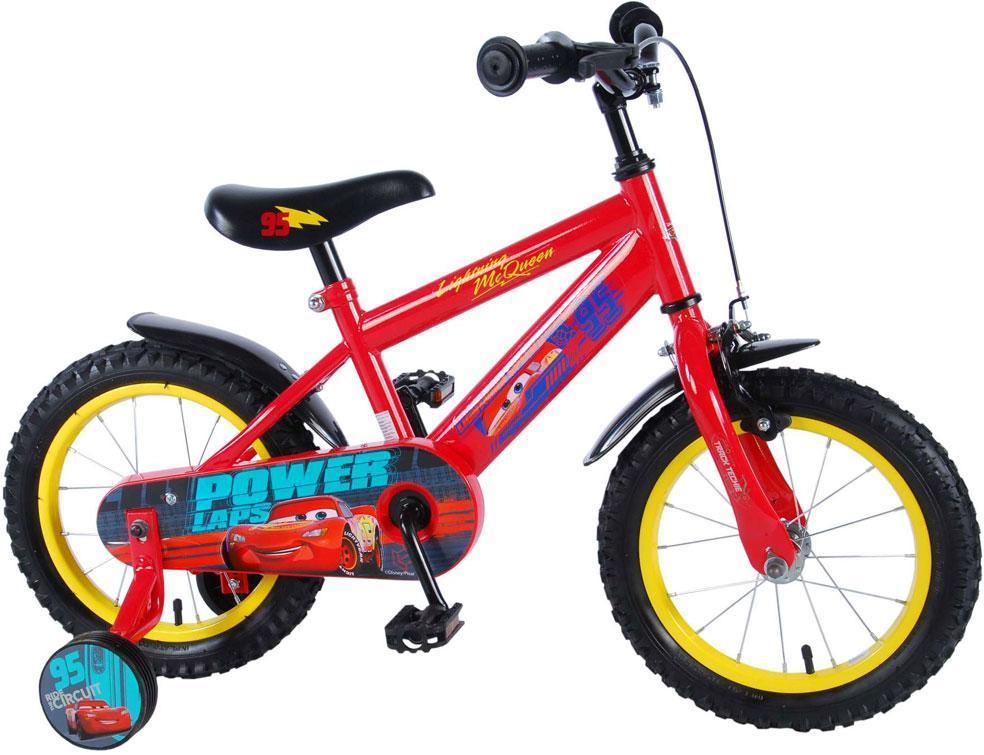 cars – Cars 3 børnecykel 14 tommer - disney cars børnecykel 994487 på eurotoys