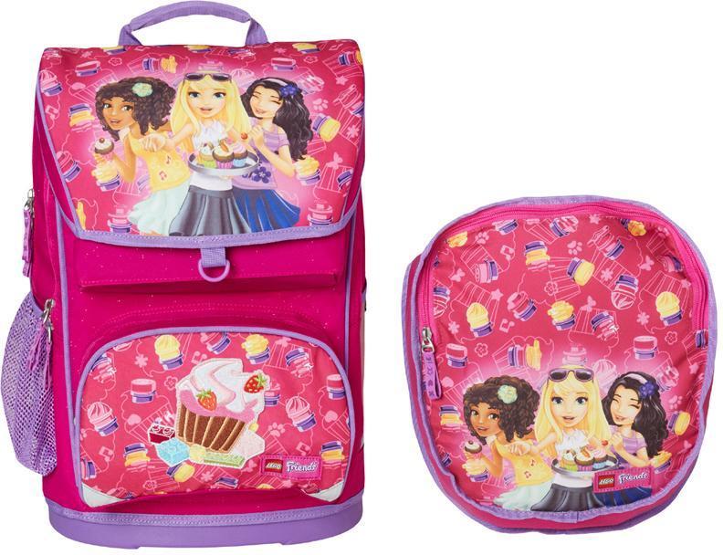 Stor Friends Cupcake skoletaske - Stor Friends Cupcake skoletaske