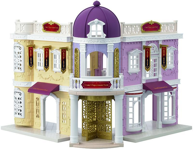 Image of Stormagasin - Sylvanian Families Town 6017 (155-006017)