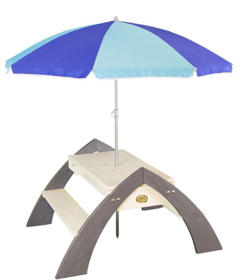 Image of Delta havebænk med parasol - Axi havebænk 031023 (190-031023)