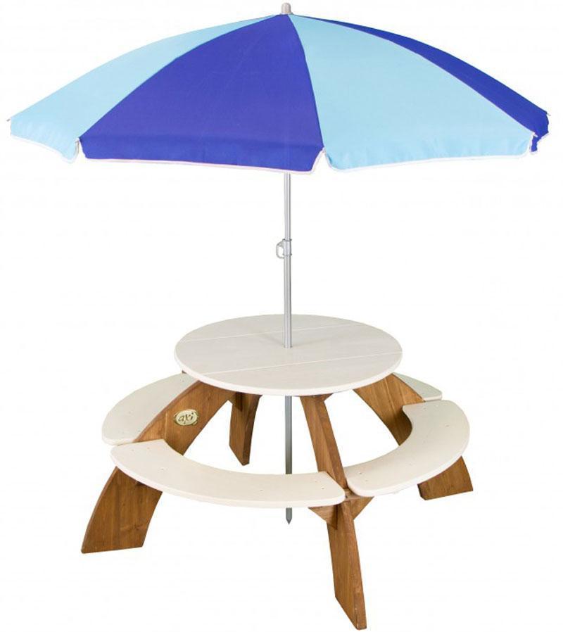 Image of Orion bænk med parasol - Axi havebænk 031024 (190-031024)