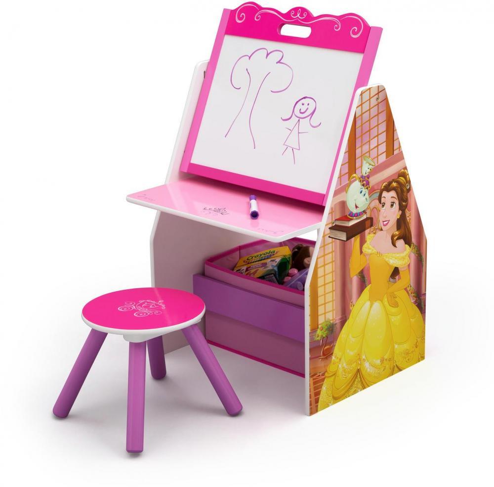 Image of Disney Princess aktivitetsbord - Disney Prinsesse borde og stole 73350 (199-075750)