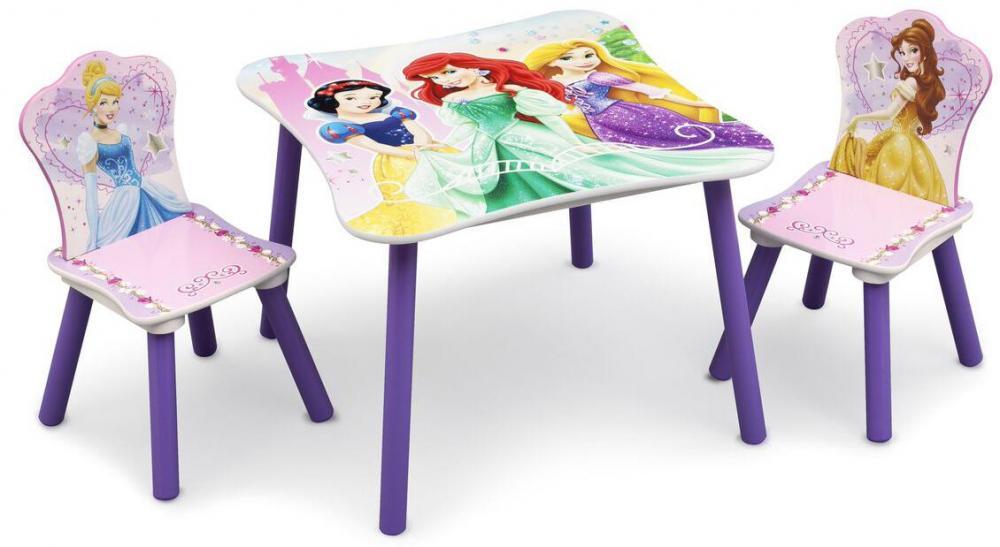 Image of Disney Princess bord og stole - Disney Prinsesse børnemøbler 304328 (199-304328)