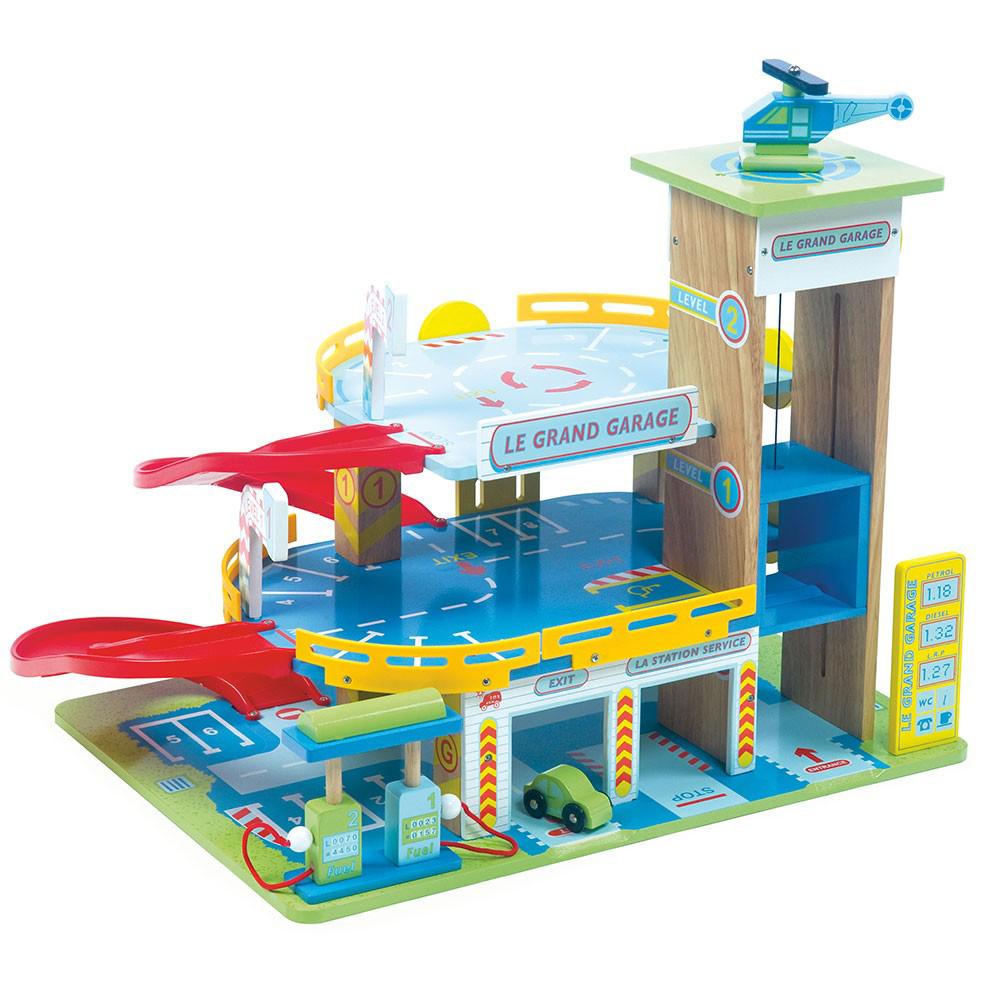 Image of Den store garage - Le Toy Van 000439 (206-000439)