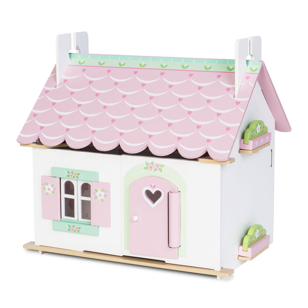 Dukkehus Lily med møbler - Dukkehus Lily med møbler