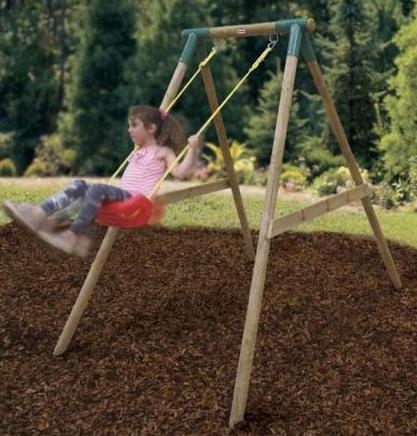 Gyngestativ i træ - Gyngestativ i træ